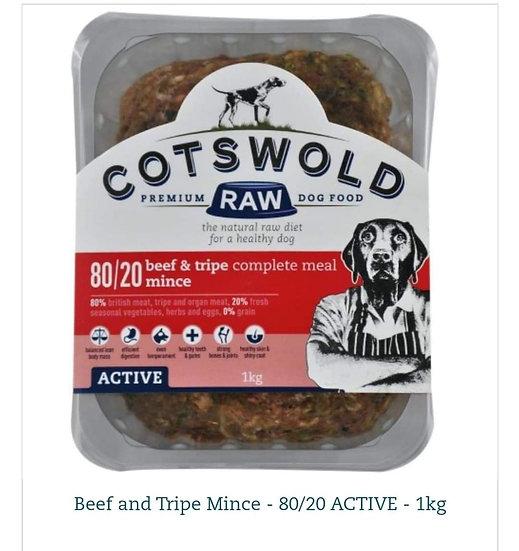 Cotswold beef & tripe 80/20