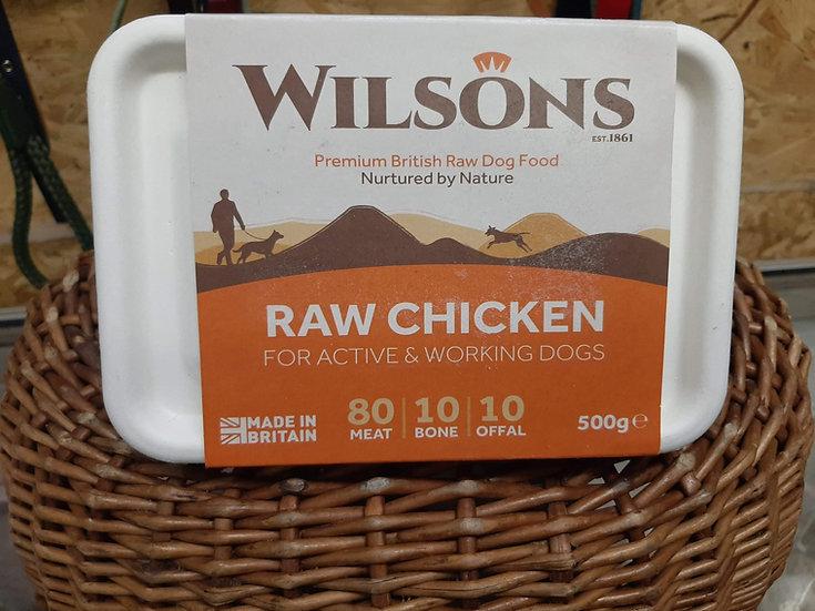 Wilson's  Raw chicken 500g