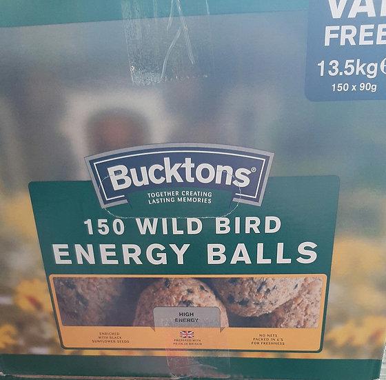Bucktons 150 energy balls