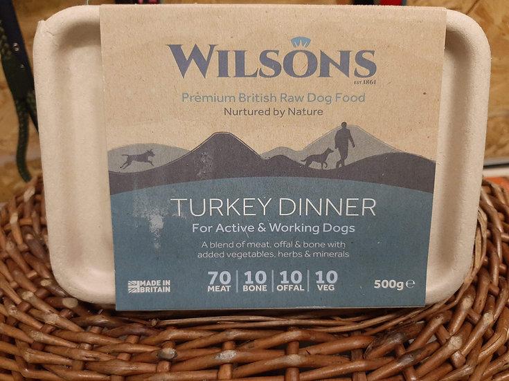 Wilson's  Turkey dinner 500g