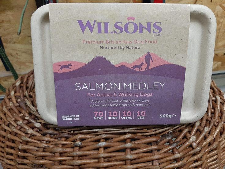 Wilson's Salmon medley 500g