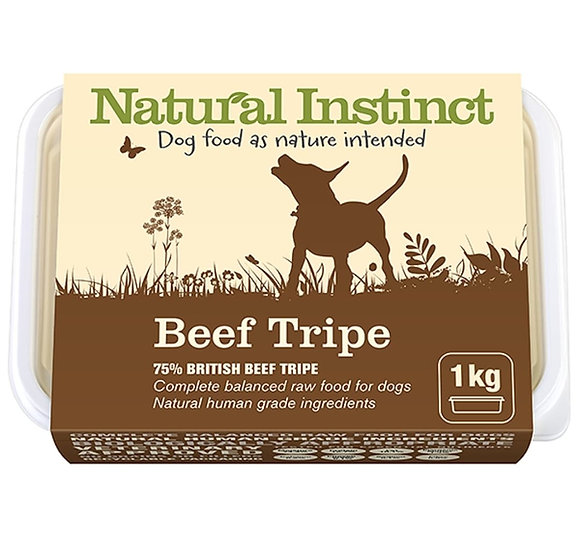 Natural beef tripe