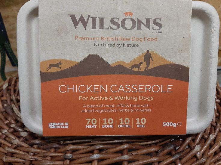 Wilson's Chicken casserole 500g