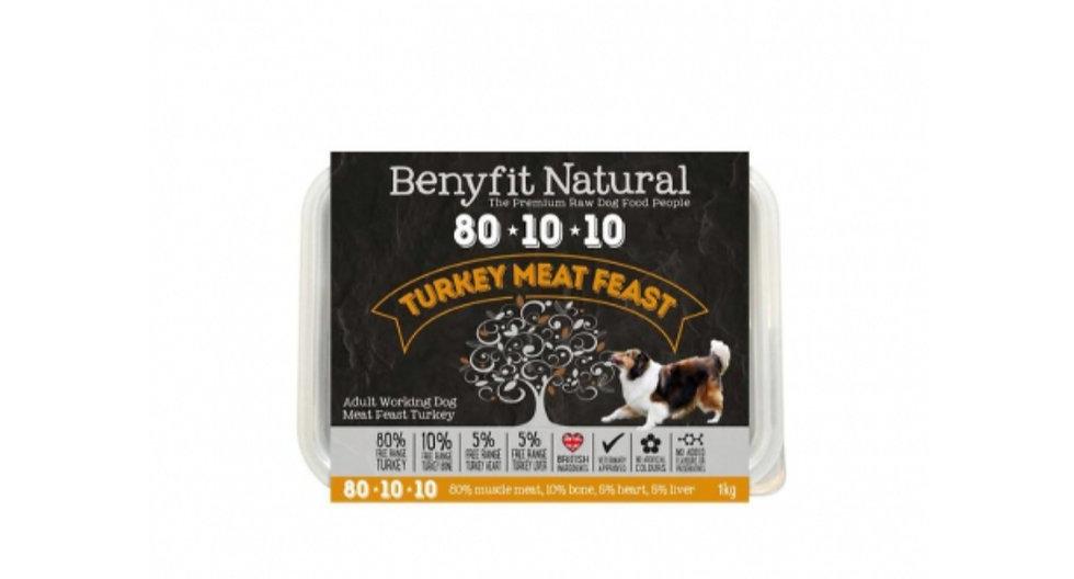 Benyfit turkey meat feast 80/10/10