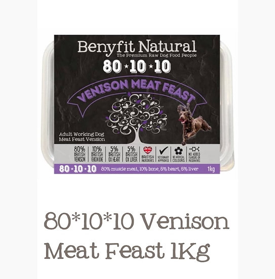 Benyfit Venison meat feast 1kg