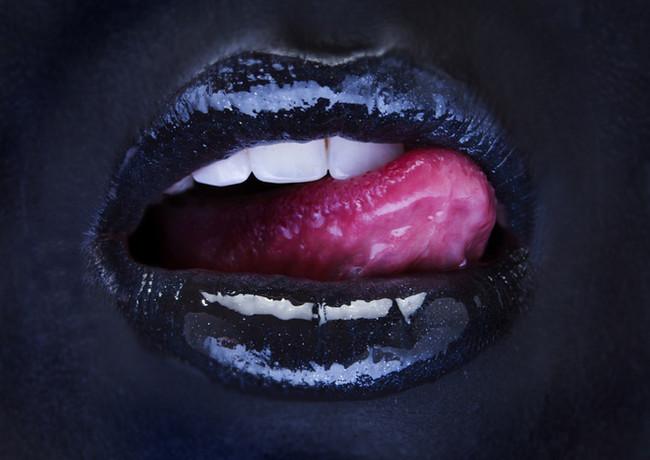 Lips And Eye