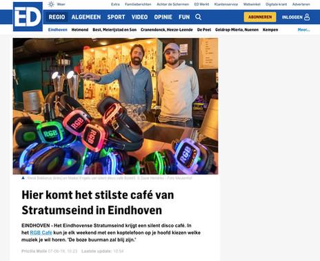 Eindhoven Dagblad artikel