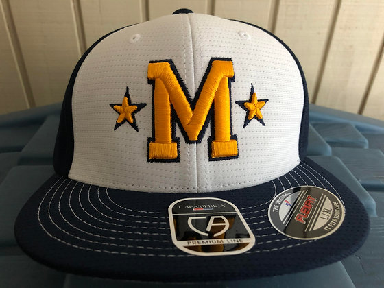 MLL Hat with White Front/Navy Back
