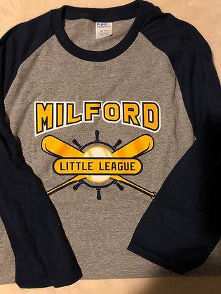 Milford Little League Raglan Sleeve