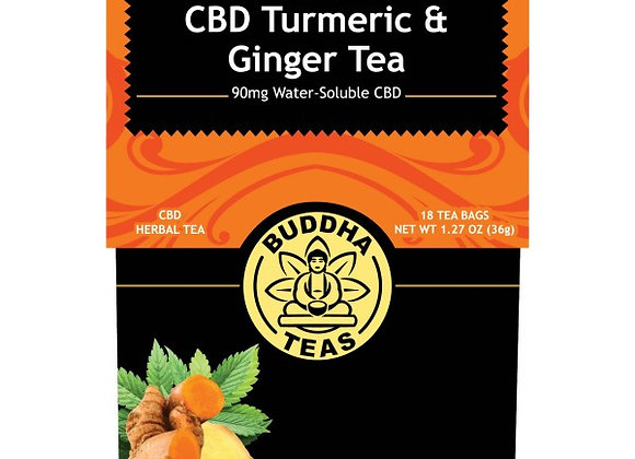 CBD Turmeric & Ginger Tea
