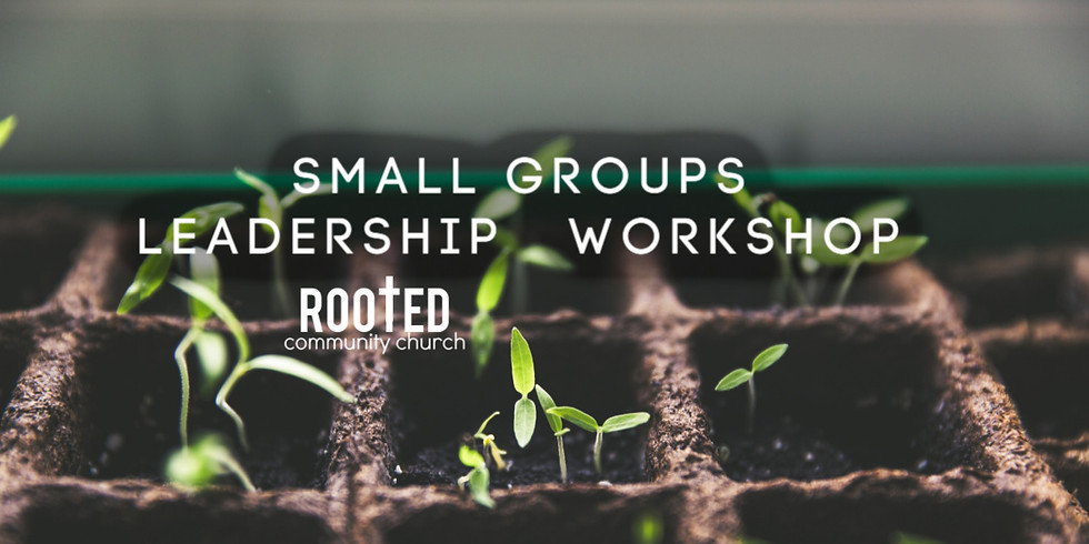 Small Groups Leadership Workshop