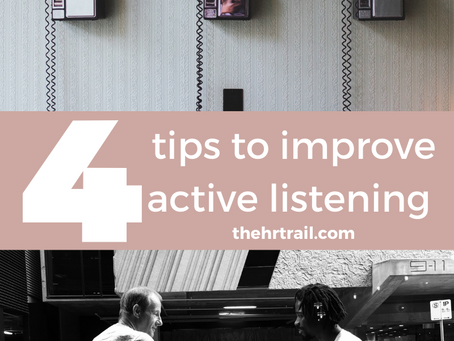 Active Listening Skills - Do You Have Them?