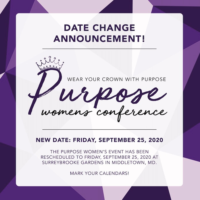 Purpose women's conference event
