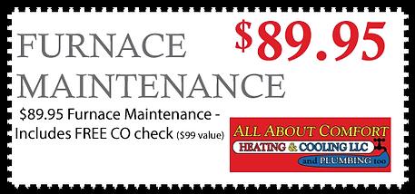 Furnace Maintenance Coupon