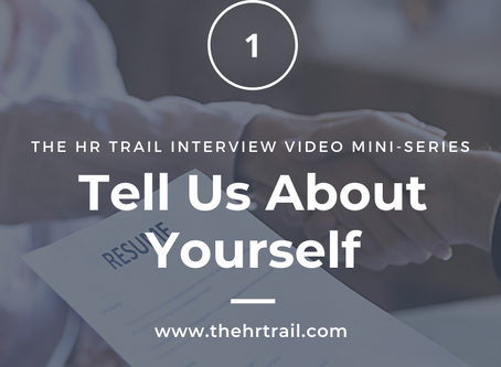 HR Interview Video Mini Series - What HR Likes & Doesn't Like to Hear in an Interview