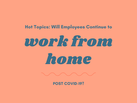 Will Employees Continue to WFH Post COVID-19?