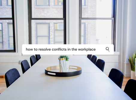 How to Resolve Conflicts in the Workplace