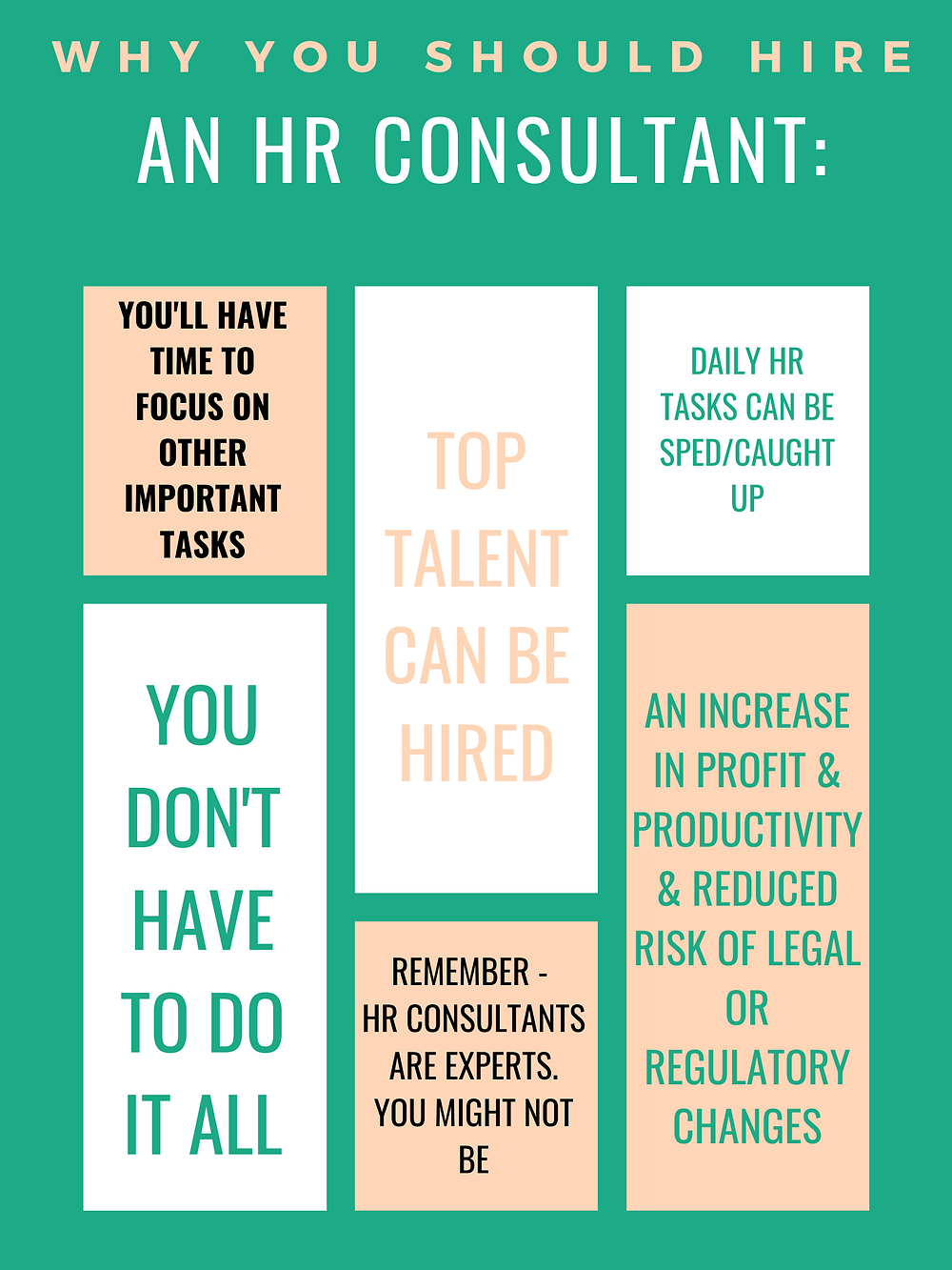 why hire an hr consultant