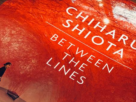 Chiharu Shiota - exposition at the Blain|Southern