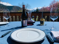 Chalet Momo Terrace Lunch