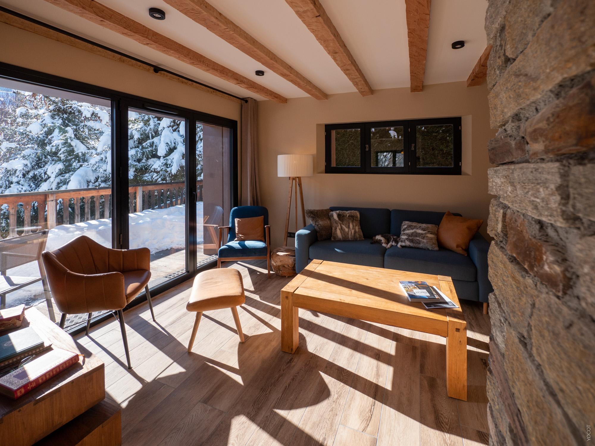 alpine chalet lounge