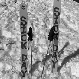 Skiing in 3 valleys