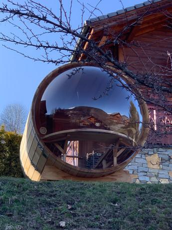 Designer Sauna Pod