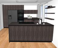 Chalet Momo Terraces Kitchen
