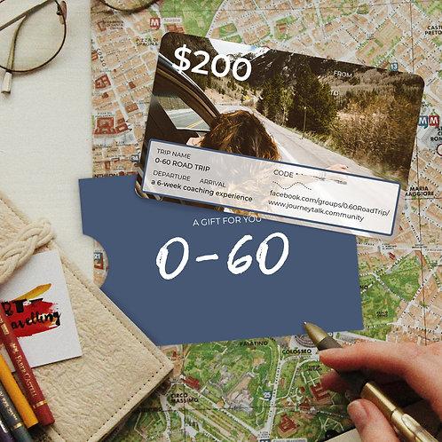$200 Road Trip Gift Card