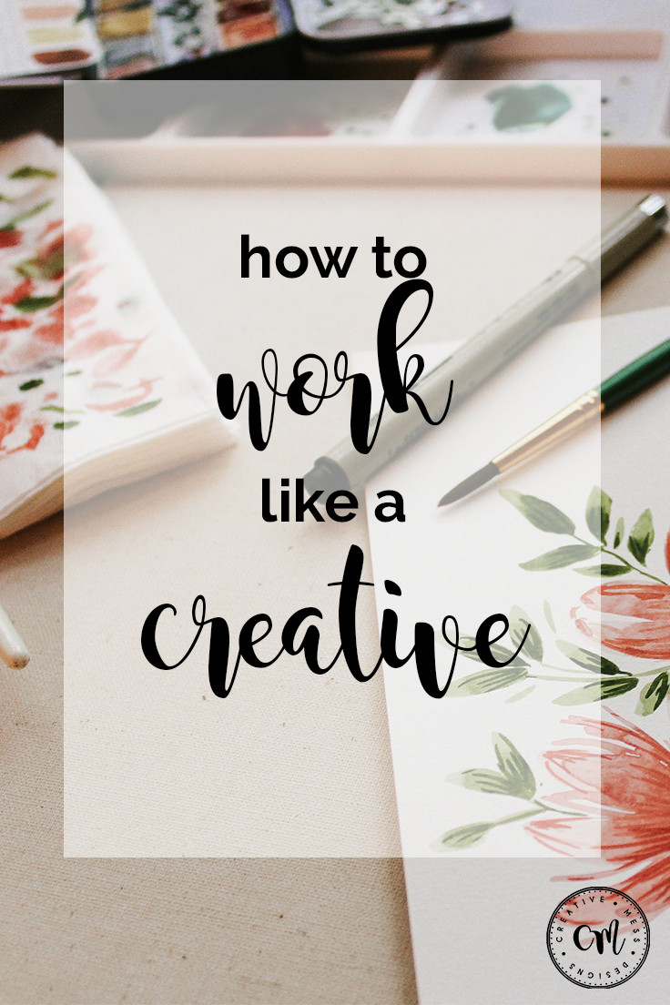 Work like a Creative
