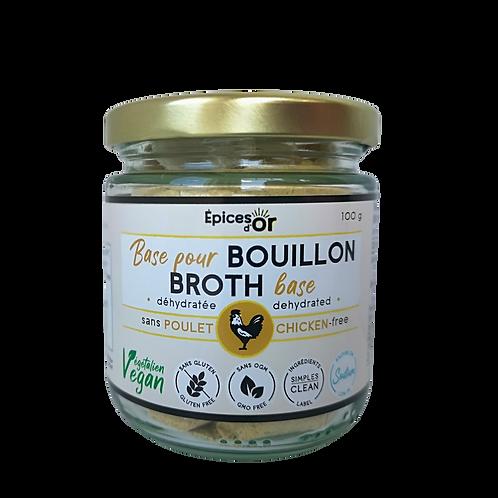 100 g  BASE DE BOUILLON VÉGAN & SANTÉ