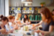 Com RP l'agence de presse certifiée Bio, ateliers culinaires et showroom