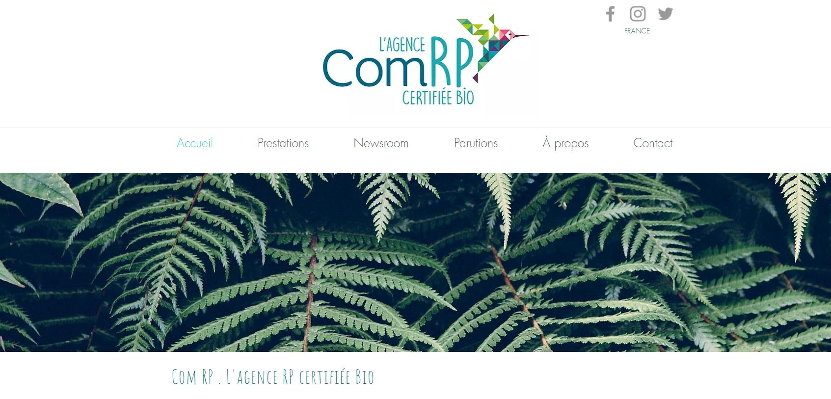 Site web com RP