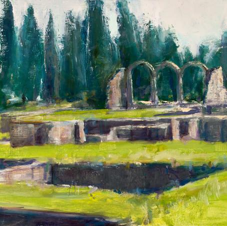 Roman baths in Fiesole