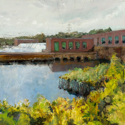PSNH pond and dam
