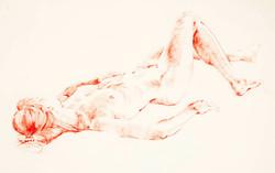 Julie reclining