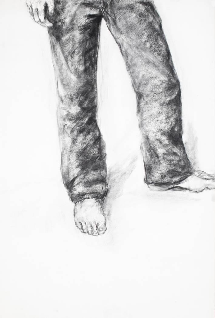 self portrait i1990_ legs