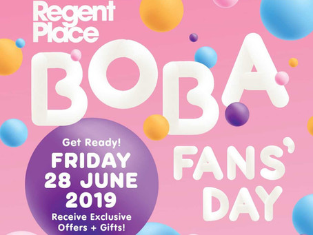 Celebrate Boba Tea Day With Us This 28th June!