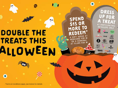 Double the Treats this Halloween at Regent Place