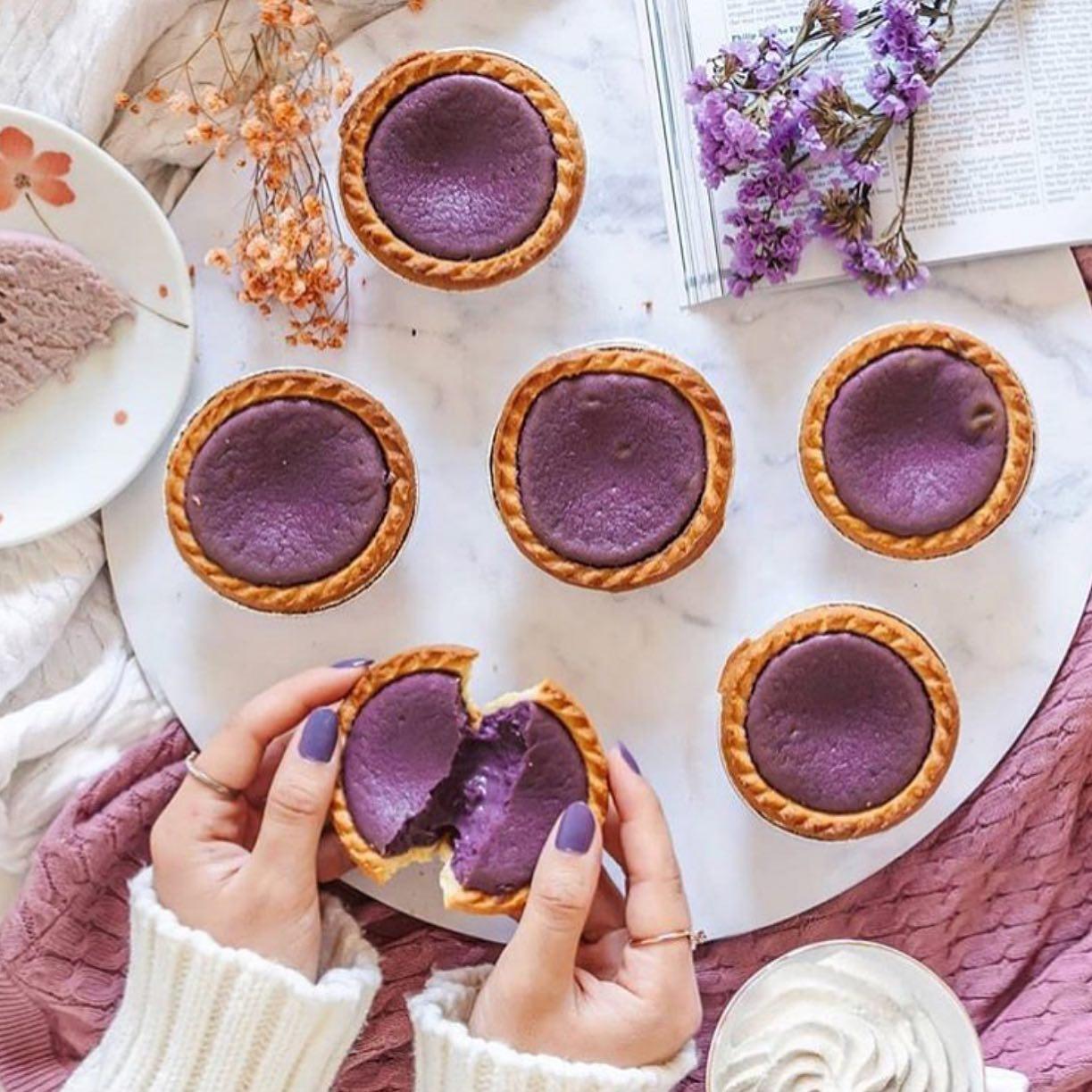 taro tarts