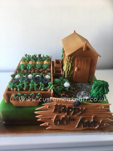 Gardening & Alotment cake