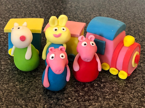 Peppa Pig and Friends Train