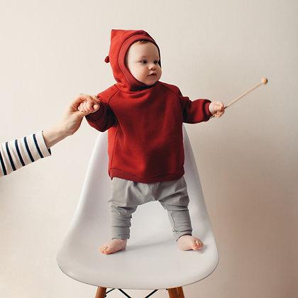 Толстовка с капюшоном для малышей
