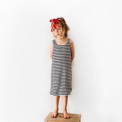 Морское платье-майка