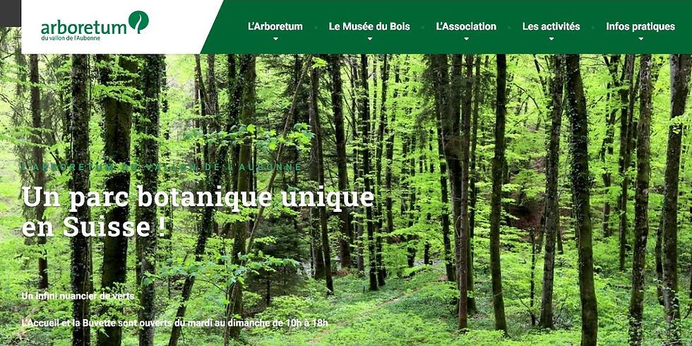 Summer Hiking 1: ARBORETUM Aubonne- 31 July 2021