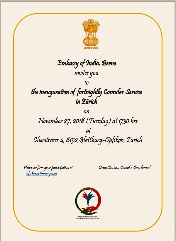 Invitation_Inauguration of fortnightly C