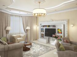 Классический интерьер дома