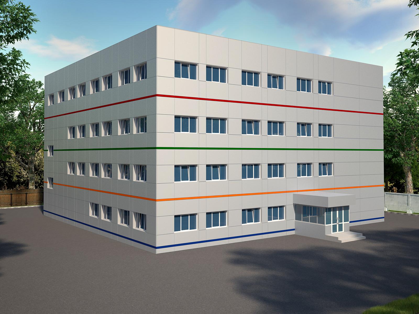 Проект отделки фасада