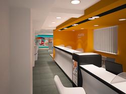 Дизайн интерьера офиса обслуживания