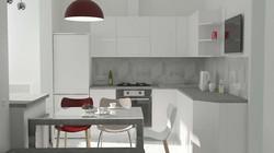 Кухня с стиле хай-тек